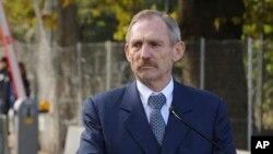 Menteri Dalam Negeri Hongaria, Sandor Pinter (foto: dok).