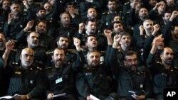 Komandarên Sipahê Pasdaran (Arşîv).