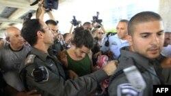 Израиль задержал в аэропорту сторонников Палестины