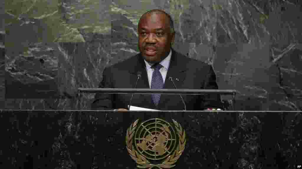 Gabon President Ali Bongo Ondimba.