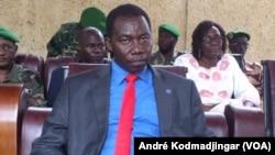 Youssouf Tom procureur de la république, à N'Djamena, le 26 août 2019. (VOA/André Kodmadjingar).