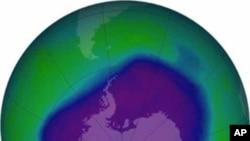 2006年9月大气层中的臭氧层漏洞