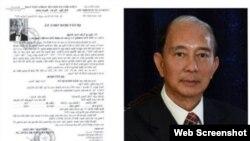 Công an Việt Nam ra lệnh truy nã đối với ông Đào Minh Quân, tháng 10/2017. Photo Trí thức Trẻ
