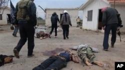 ဆီးရီးယားတိုက္ပြဲျမင္ကြင္း (ဇန္နဝါရီလ ၁၁၊ ၂၀၁၃)
