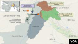 Племінний район Мохманд на північному заході Пакистану