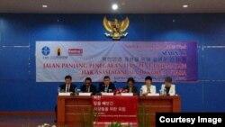 지난주 인도네시아에서 열린 북한인권주간 중 인도네시아 국립과학원에서 세미나가 열렸다.