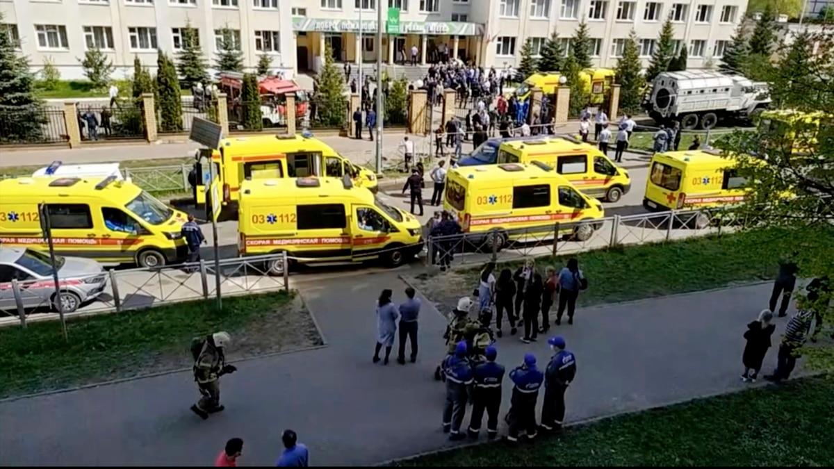Penembakan di Sekolah di Rusia, 11 Tewas