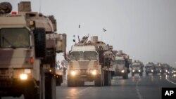 지난해 11월 예멘 내전에 참전한 아랍에미리트 군이 기지로 돌아가고 있다. (자료사진)