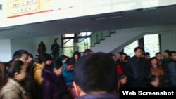 汶川地震遇難學生家長請願(六四天網)