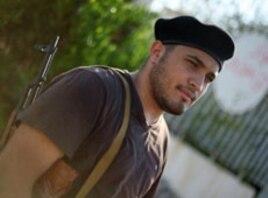 Libyan rebel Fitori Abdl Khadar