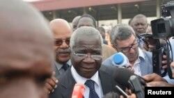 Afonso Dhlakama à Maputo, Mozambique, le 15 octobre 2014.