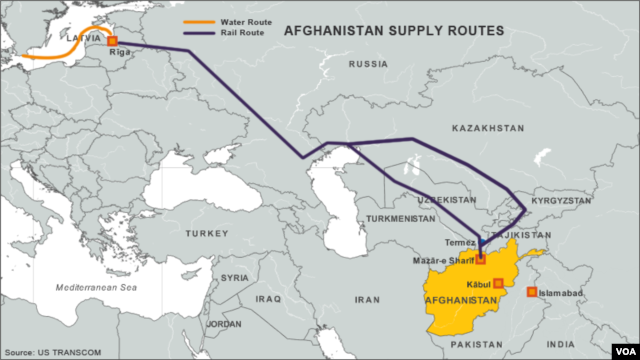 Afghanistan Northern Supply Routes