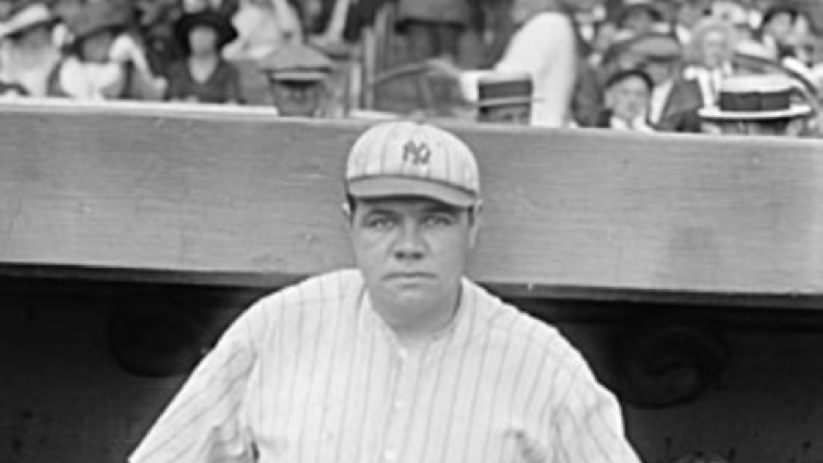 Babe Ruth,1895-1948 Americas Greatest Baseball Player-2058