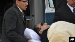 Mubarak's first trial - June, 2012