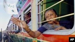 تھر ایکسپریس سے پاکستان پہنچنے والی بھارتی خاتون
