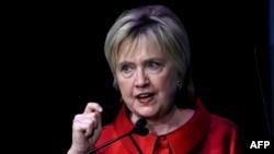 美国前总统候选人希拉里·克林顿
