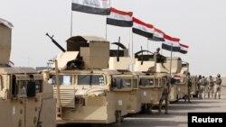 Pasukan Irak siaga untuk melakukan serangan ke kota Mosul yang dikuasai kelompok ekstremis ISIS (foto: dok).