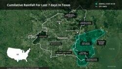 Harvey မုန္တိုင္းေၾကာင့္ Texas ျပည္နယ္မွာ စံခ်ိန္က်ိဳးေအာင္ မိုးႀကီးေရလႊမ္း