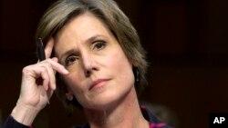 Quyền Bộ trưởng Tư pháp liên bang Sally Yates.