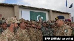 جنرل قمر جاوید باجوہ نے اتوار کو جنوبی وزیرستان کا دورہ کیا