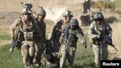 阿富汗聯軍加緊巡邏(資料圖片)