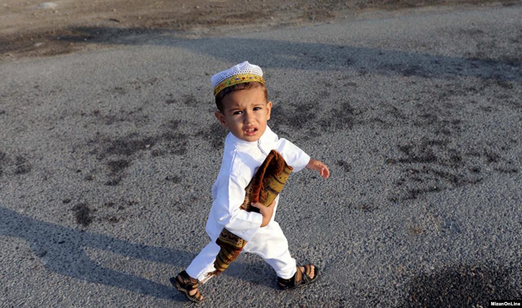 نماز عید قربان در بندر ترکمن عکس: علی اسداللهی سوته