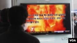 北韓自製的電腦動畫畫面