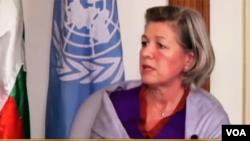 UNFPA ဌာနကိုယ္စားလွယ္ Ms. Janet Jackson