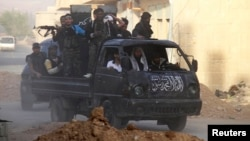 Free Syrian Army fighters seek more modern weapons to fight forces loyal to President Bashar al-Assad.