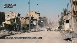 Raqqa Lies in Rubble After Years of Islamic State Rule
