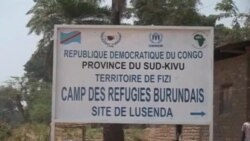 Impunzi z'Abarundi mu nkambi ya Lusenda mu burasirazuba bwa Repubulika iharanira demokarasi ya Kongo