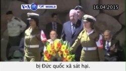 Israel tưởng niệm sáu triệu nạn nhân vụ thảm sát Holocaust (VOA60)