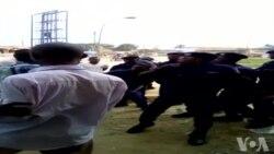Police ebetaki ba journalistes baike na botambaoli na Kisangani