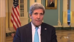 Kerry Says US Preparing Additional Sanctions for Russia Over Ukraine