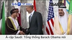 Mỹ và các nước vùng Vịnh tiếp tục hợp tác chống IS (VOA60)