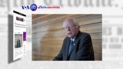 VOA60 Elections - WP: Vermont Senator Bernie Sanders has been invited to the Vatican