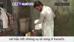 Hơn 200 người chết vì đợt nóng ở Pakistan (VOA)