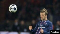 David Beckham trên sân cỏ