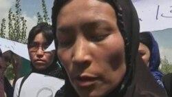 اعتراض به شرايط متزلزل زنان افغان