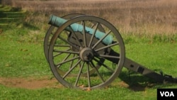A Civil War-era cannon on Maryland's Antietam National Battlefield Park. (Credit: Joe De Capua)