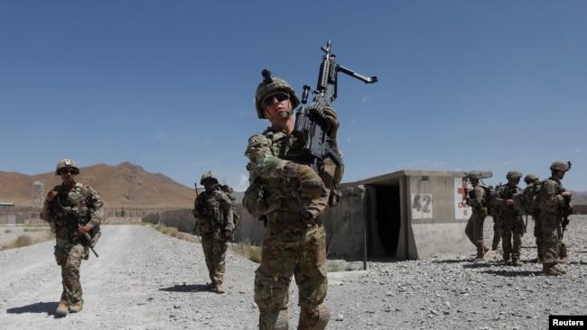 په افغانشتان کې دا مهال شااوخوا ۱۴زره امریکايي سرتېري مېشت دي