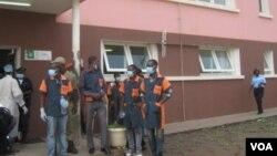 Angola Malanje Hospital banco de urgências