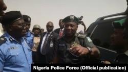 Babban Sifeton 'Yan Sandan Nigeria da suke rike da Lawal Daura