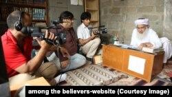 امنگ دی بلیوورز کی عکسبندی کا ایک منظر