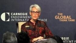 وندی شرمن: تحریم ایران بدلیل تروریسم و نقض حقوق بشر پابرجاست