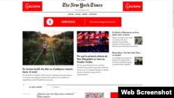 El portal en español es gratuito, pero la administración considera que el New York Times podría lograr nuevos suscriptores en su portal en inglés a través de su nuevo servicio y continuar con su crecimiento.
