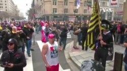 特朗普支持者在首都華盛頓集會抗議總統大選結果