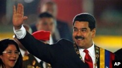 Presiden Venezuela Nicolas Maduro menuntut Amerika untuk menarik kembali pernyataan Samanta Power terkait penindakan masyarakat madani di negaranya (Foto: dok).