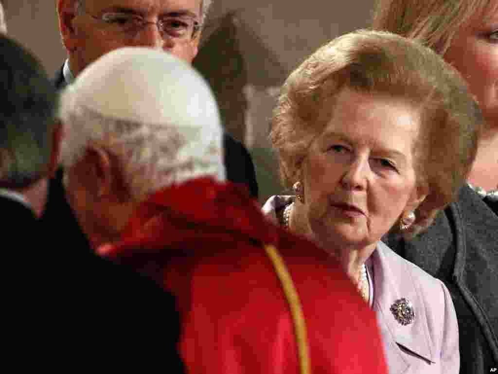 Маргарет Тэтчер. 17 сентября 2010 год.