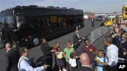 Le président Obama lors de sa tournée